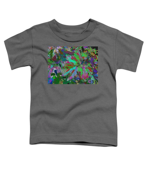 Colorfication - Leafy Colored Toddler T-Shirt