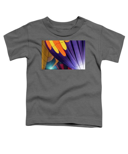 Colorful Abstract Hot Air Balloons Toddler T-Shirt