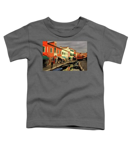 Colorful Burano Toddler T-Shirt