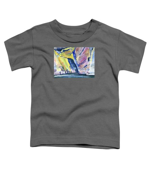 Colorful Cliffs And Cave Toddler T-Shirt