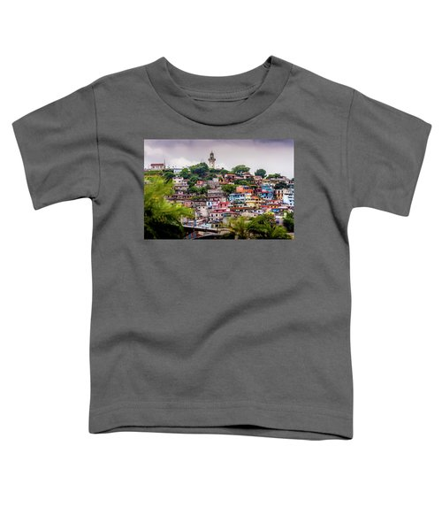 Colorful Houses On The Hill Toddler T-Shirt