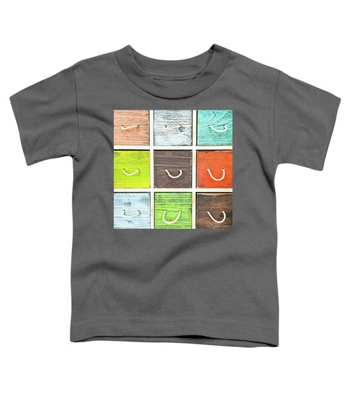 Colorful Drawers Toddler T-Shirt