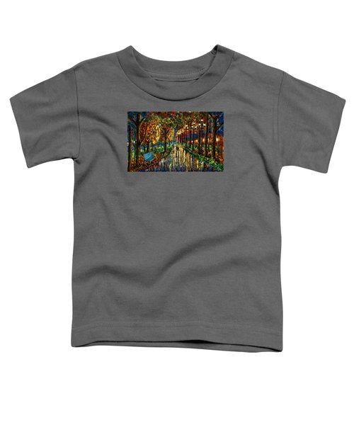 Colorful Forest Toddler T-Shirt