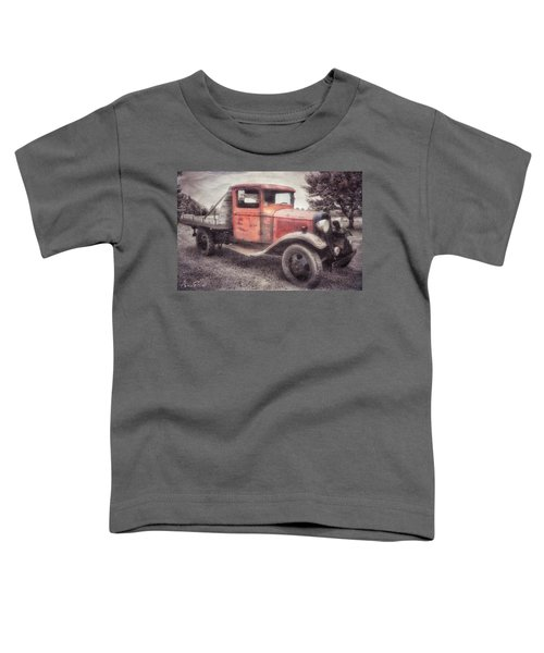 Toddler T-Shirt featuring the photograph Colorful Past by Andrea Platt