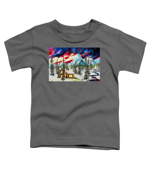 Colorful Sky Toddler T-Shirt