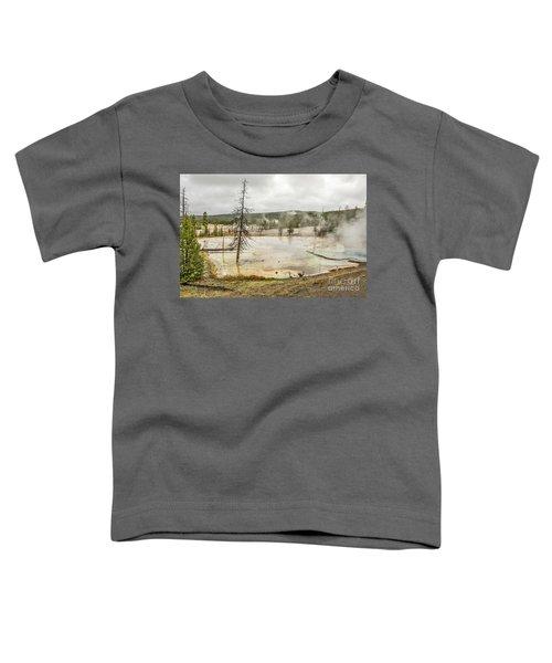Colorful Thermal Pool Toddler T-Shirt