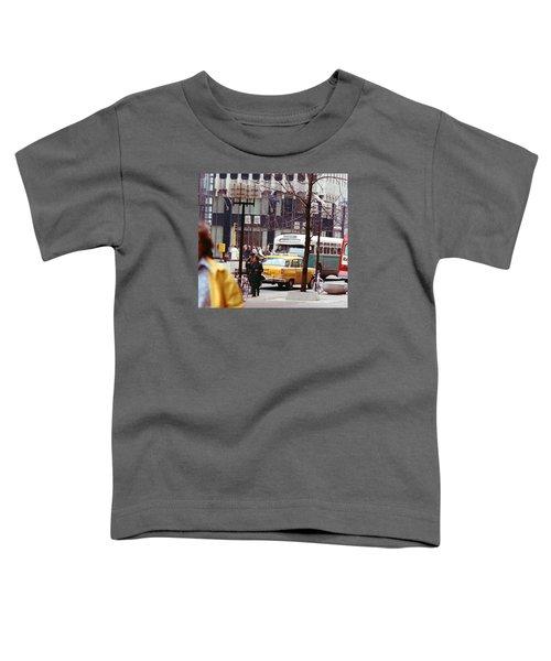 Colorful Transportation Toddler T-Shirt