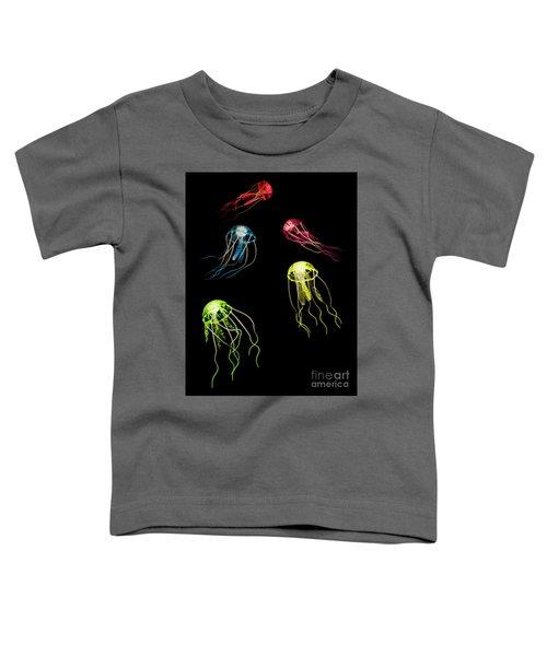 Colors Of Aquatic Life Toddler T-Shirt