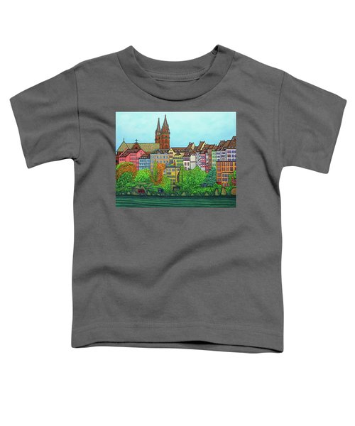Basel, Colours Of Basel Toddler T-Shirt