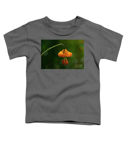 Columbia Lily With Dew Toddler T-Shirt