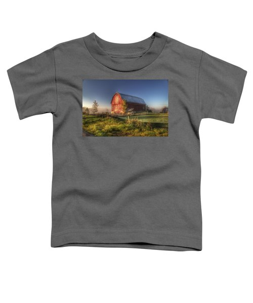 0009 - Columbiaville Red I Toddler T-Shirt