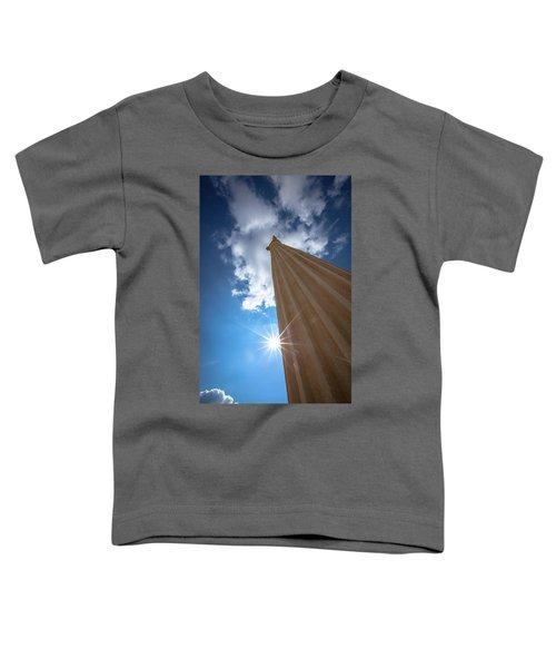 Column To Sky Toddler T-Shirt