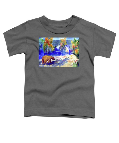 Coming For Dinner At Rainbow Lodge Toddler T-Shirt