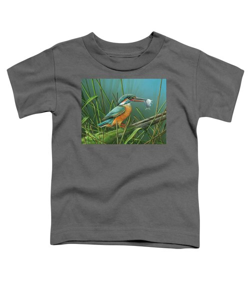 Common Kingfisher Toddler T-Shirt