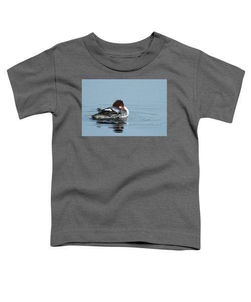 Common Merganser Toddler T-Shirt