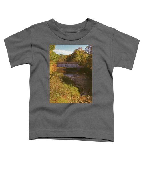 Comstock Covered Bridge Toddler T-Shirt