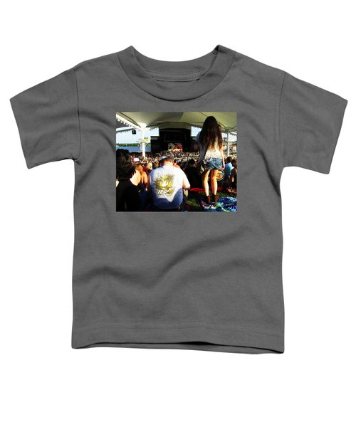 Concert Crowd Toddler T-Shirt