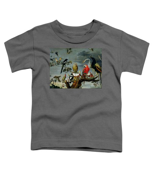 Concert Of Birds Toddler T-Shirt