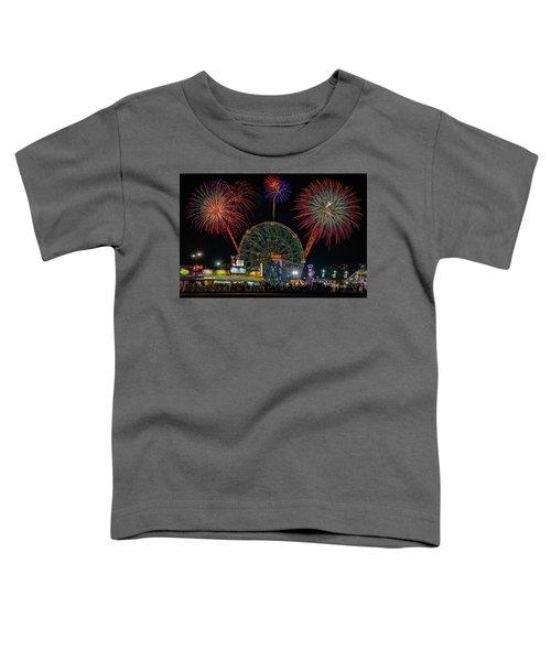 Coney Island At Night Fantasy Toddler T-Shirt