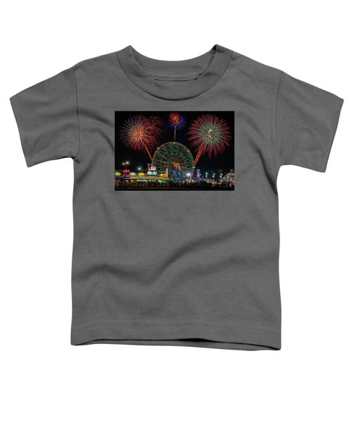 Coney Island At Night Fantasy Toddler T-Shirt