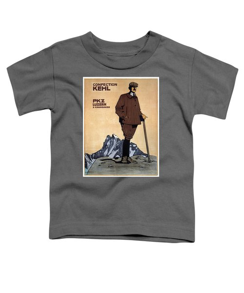 Confection Kehl - Men's Clothing - Vintage Advertising Poster Toddler T-Shirt