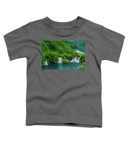 Connected By Waterfalls - Plitvice Lakes National Park, Croatia Toddler T-Shirt