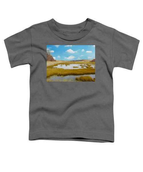 Connecticut Salt Water Marsh Toddler T-Shirt