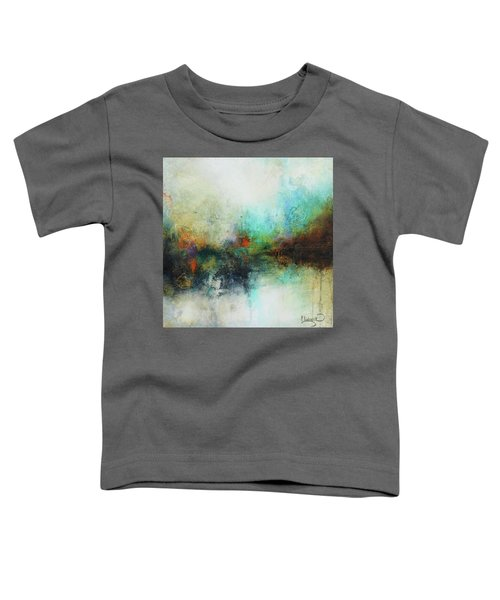 Contemporary Abstract Art Painting Toddler T-Shirt