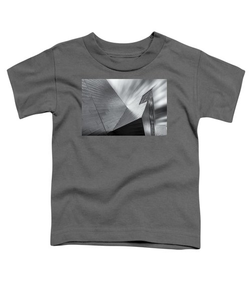 Toddler T-Shirt featuring the photograph Contemporary Architecture Of The Shops At Crystals, Aria, Las Ve by Adam Romanowicz