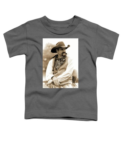 Content In The Saddle Toddler T-Shirt
