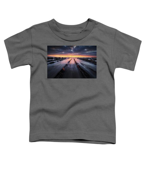 Converging To The Light Toddler T-Shirt