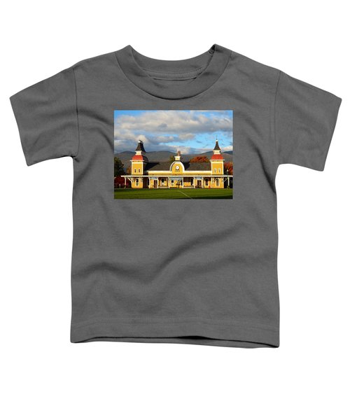 Conway Scenic Railroad 1 Toddler T-Shirt