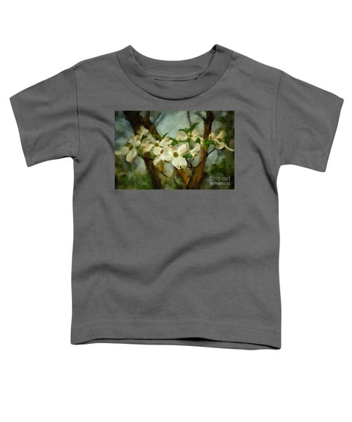 Cool Breeze Painterly Toddler T-Shirt