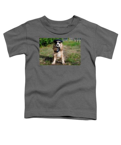 Cool Dog Toddler T-Shirt