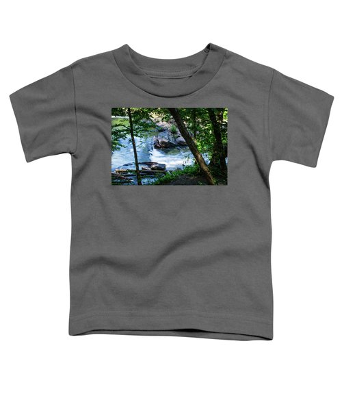 Cool Mountain Stream Toddler T-Shirt