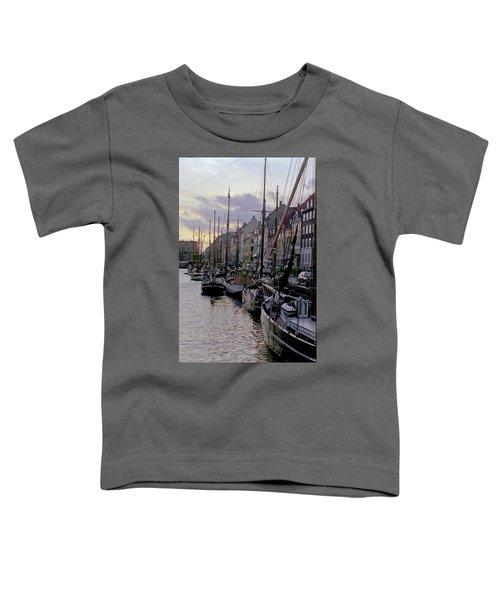Copenhagen Quay Toddler T-Shirt