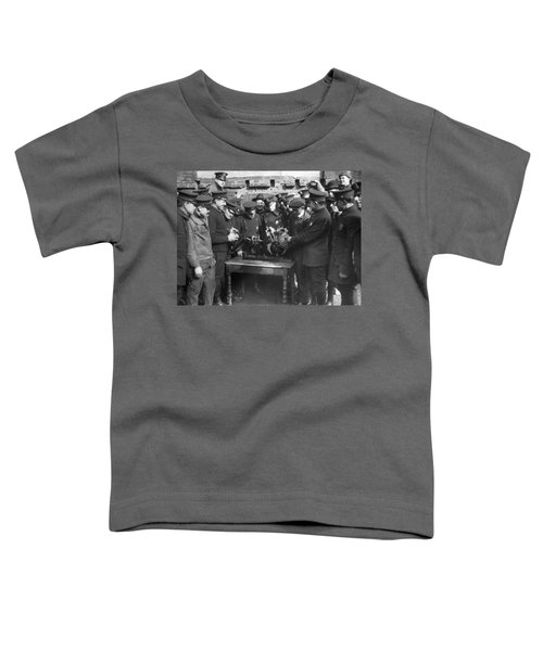 Cops Learn Motorcycle Engines Toddler T-Shirt