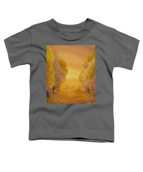 Coral Dawn Toddler T-Shirt