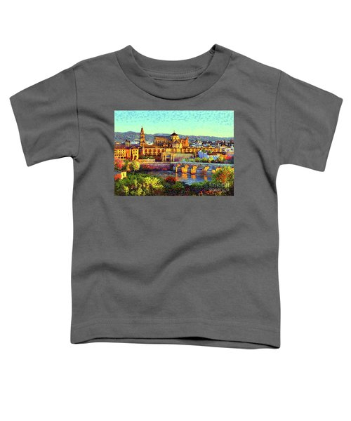 Cordoba Mosque Cathedral Mezquita Toddler T-Shirt