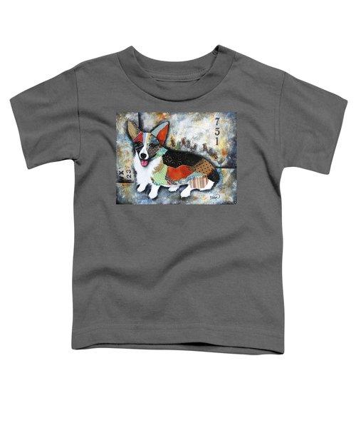 Corgi 2 Toddler T-Shirt