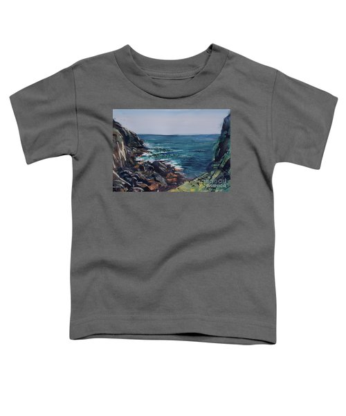 Cornish Clffs Toddler T-Shirt
