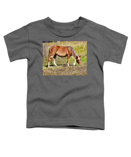 Corolla's Wild Horses Toddler T-Shirt