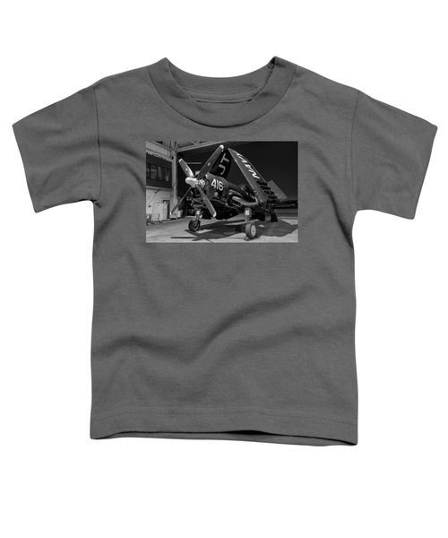 Corsair In The Hangar Toddler T-Shirt