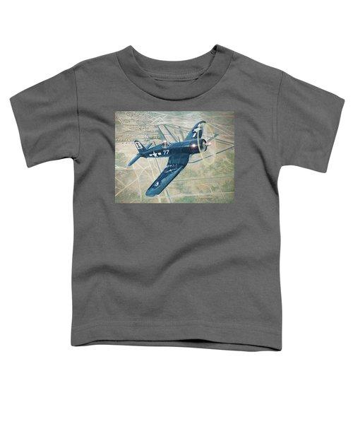 Corsair Over Mojave Toddler T-Shirt