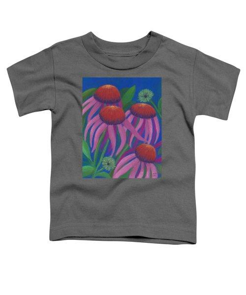 Cosmic Coneflowers Toddler T-Shirt