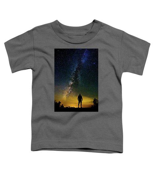 Cosmic Contemplation Toddler T-Shirt