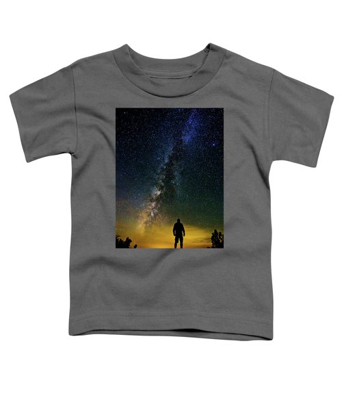 Cosmic Contemplation Toddler T-Shirt