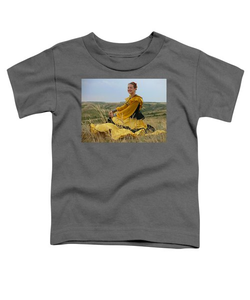 Cossack Young Lady Toddler T-Shirt