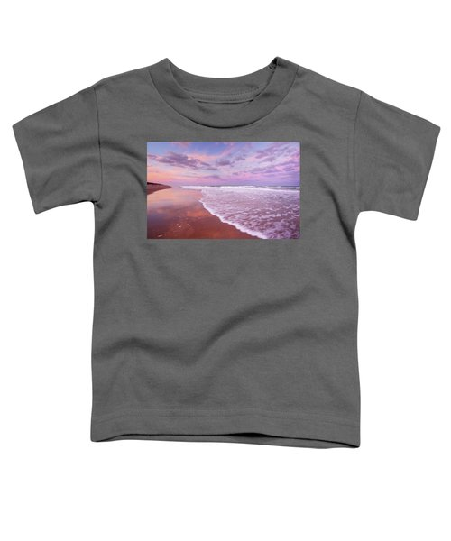 Cotton Candy Sunset. Toddler T-Shirt