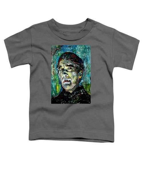 Count Dracula - Christopher Lee Toddler T-Shirt